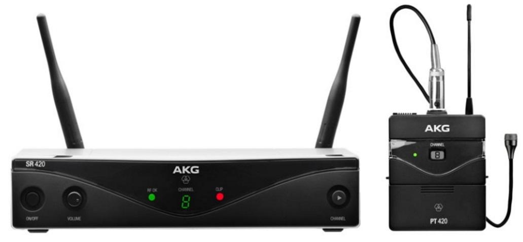 AKG WMS420 Presenter