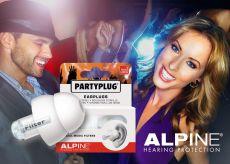 Alpine PartyPlug Earplugs For Party's Gehoorbescherming