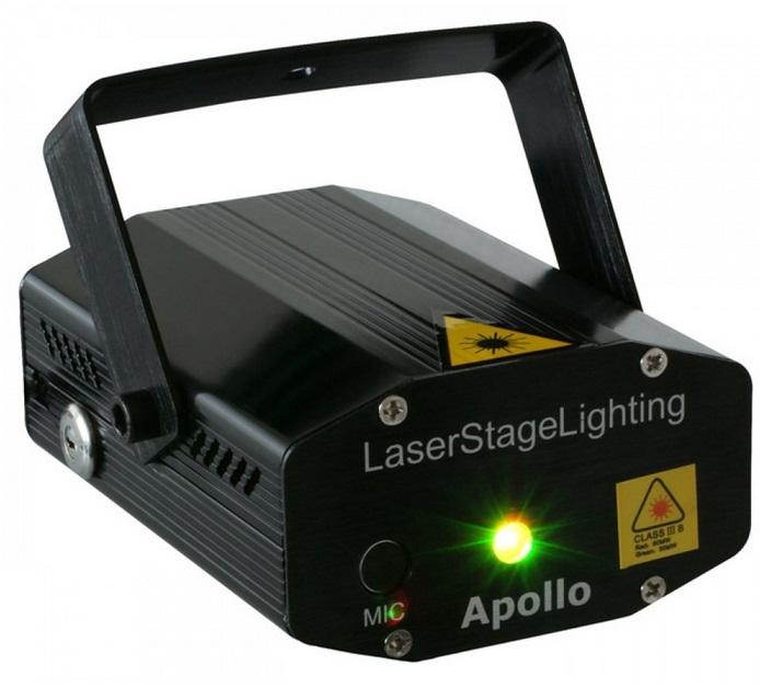 BeamZ Apollo Beamz  Multipoint Lasereffect Rood-Groen 152 752 170mW 152