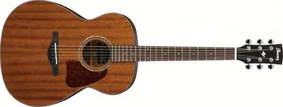 Ibanez AC240-OPN Acoustic Solid Mahogany Top, Mahogany Bac