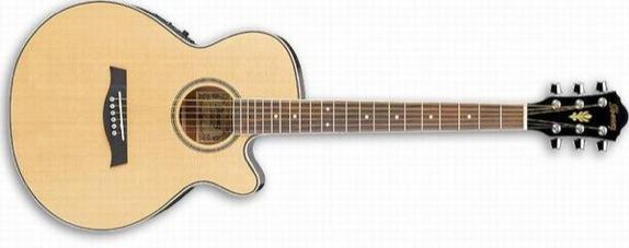 Ibanez AEG8E-NT Elec Acous Guitar