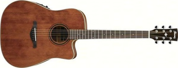 Ibanez AW250ECE-RTB Acoustic/Electric Solid Cedar Top, Mah