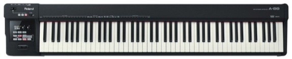 Roland A-88 Midi piano/keyboard met gewogen toetsen