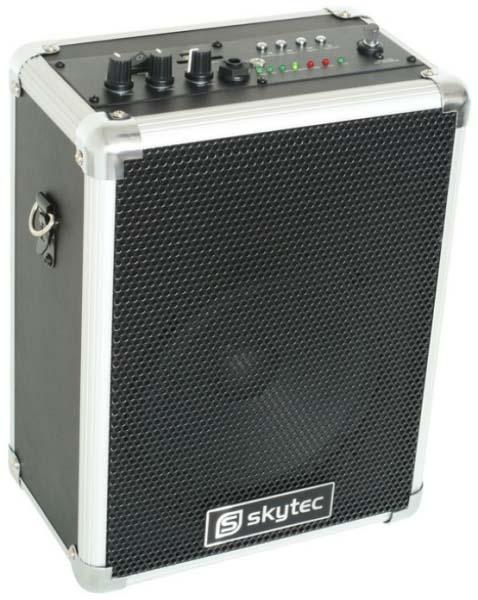Skytec ST-030 Mobiele Geluidsinstallatie 50W/USB/SD/VHF
