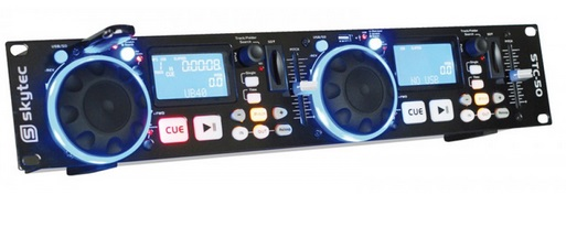 Skytec STC-50 151.210 Twin MP3/USB/SD Player